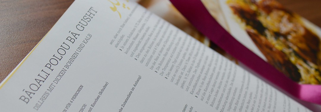 Kochbuch (persisch) © superscheeli - flickr.com (used under CC BY-SA 2.0 – Unmodified)