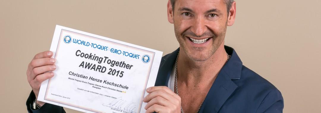Auszeichnung Kochschule Christian Henze