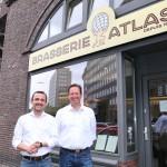 Die Brasserie Atlas im Chilehaus