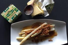 Kerrygold Butter zu Spargel
