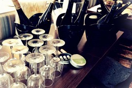 Excellence Kochschule Klassenzimmer Weinprobe