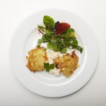 Zanderfilet im Kartoffelpuffer