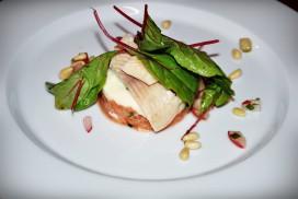 Lachtartar mit Räucherfischmousse