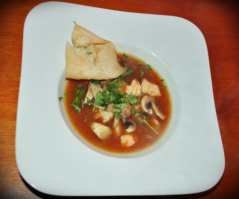 Cookst Du! Lachs-Garnelen-Suppe