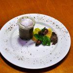 Schokoladen-Soufflé mit Feigenkompott